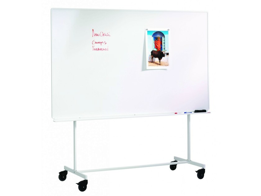 Lavagna per ufficio girevole con ruote mobile boards by for Mobile con chiave per ufficio