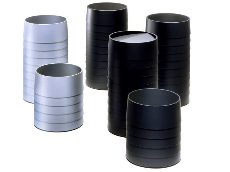 Technopolymer waste paper bin STATUS | Waste paper bin by REXITE