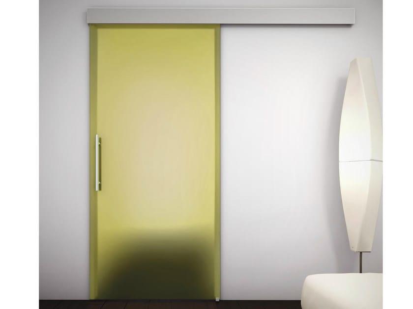 Porta Scorrevole Con Mantovana Sinthesy Light Foa