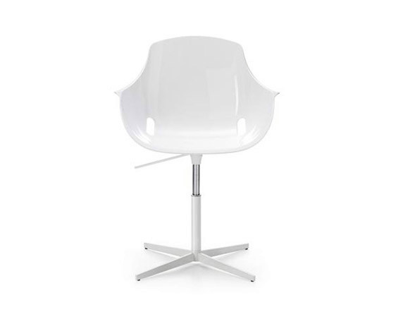 Waiting Chair with 4-Spoke base