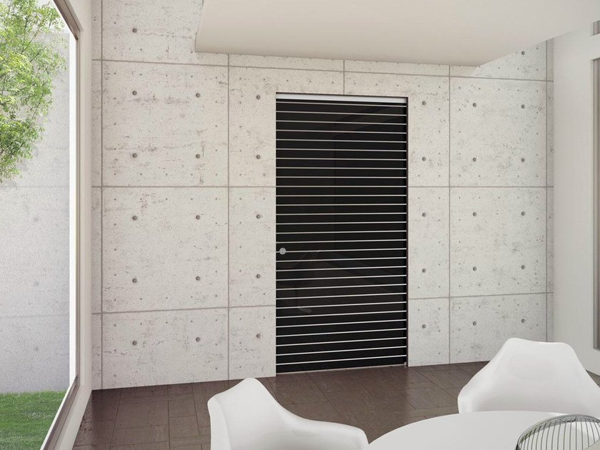 Pocket sliding door