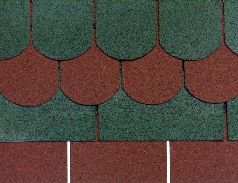 Bitumen roof shingle GUTTATEC - GUTTA ITALIA