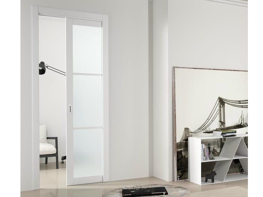 Pocket sliding door