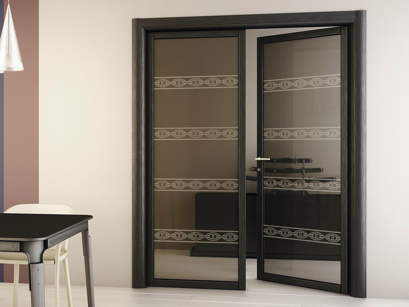 Double swing door SLIM R1 by FOA