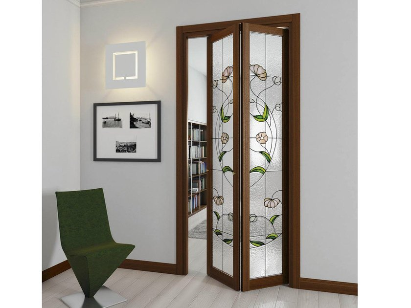 Folding door arianna by foa for Porta a libro in ferro