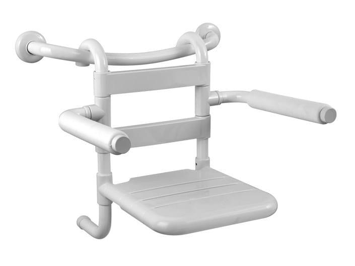 Removable galvanized steel shower Seat TUBOCOLOR | Galvanized steel shower Seat by Ponte Giulio