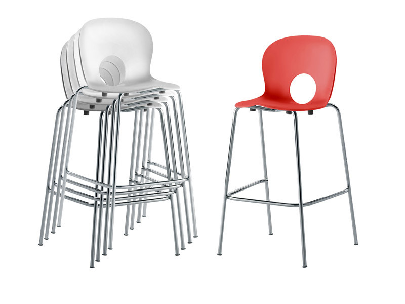 High stackable stool