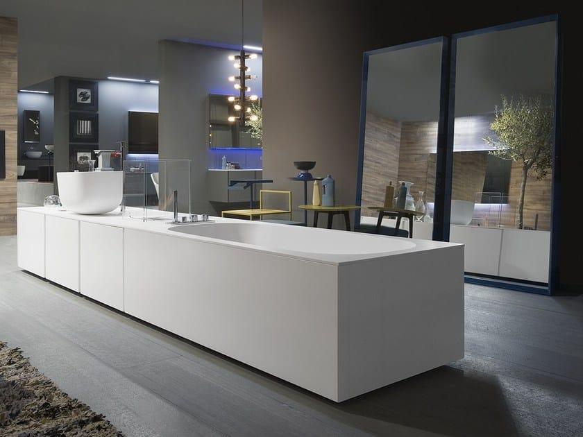 Exelen mobile bagno componibile collezione exelen by antonio lupi design - Mobile bagno componibile ...