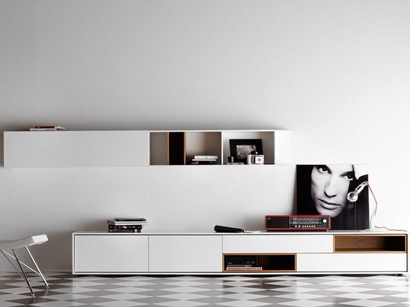 Lacquered sideboard - Madia in legno massello