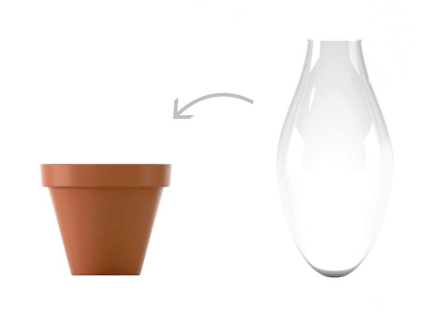 Glass vase FLEUR by KONSTANTIN SLAWINSKI