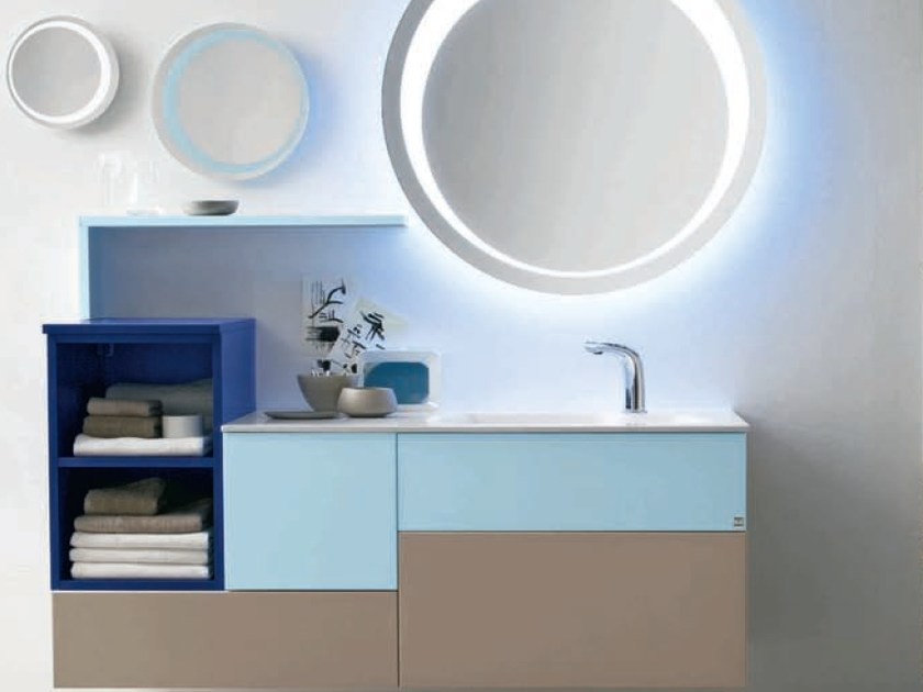 Bathroom furniture set AB 908 by RAB Arredobagno