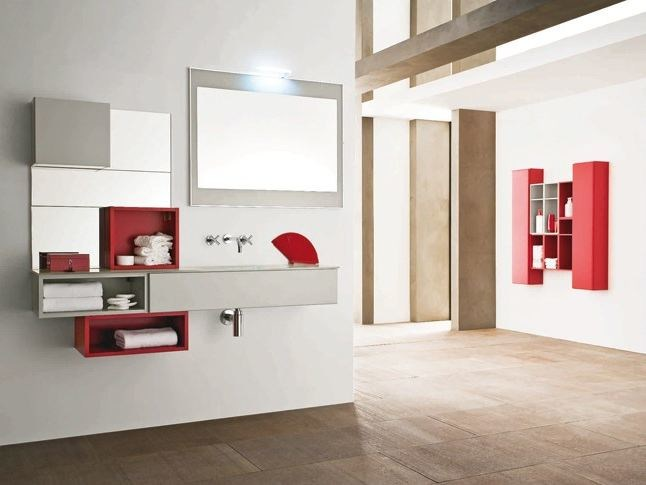 Bathroom furniture set AB 915 - RAB Arredobagno