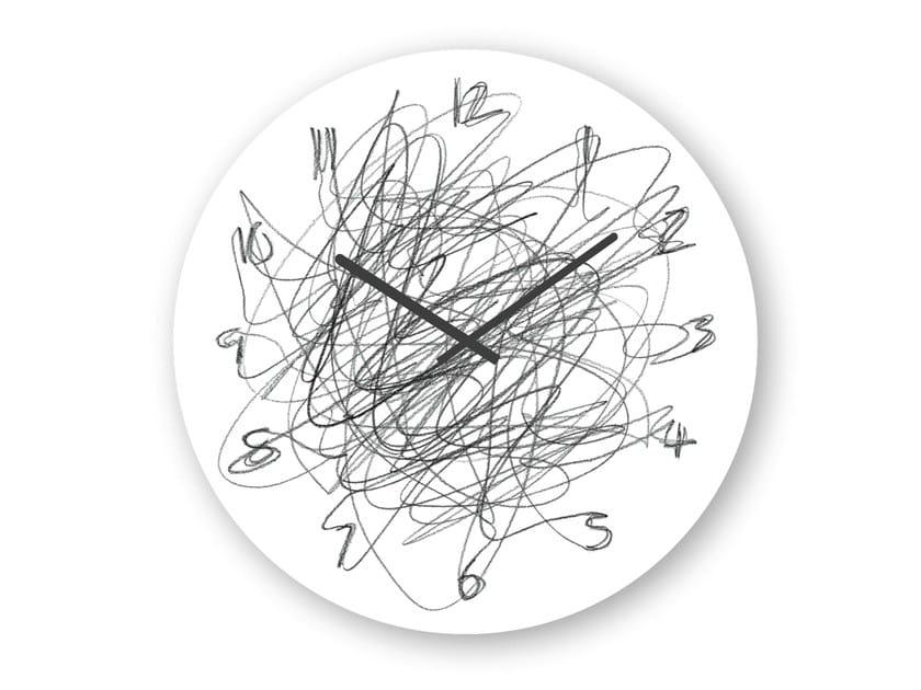Wall-mounted clock CONTINUOUS - KONSTANTIN SLAWINSKI