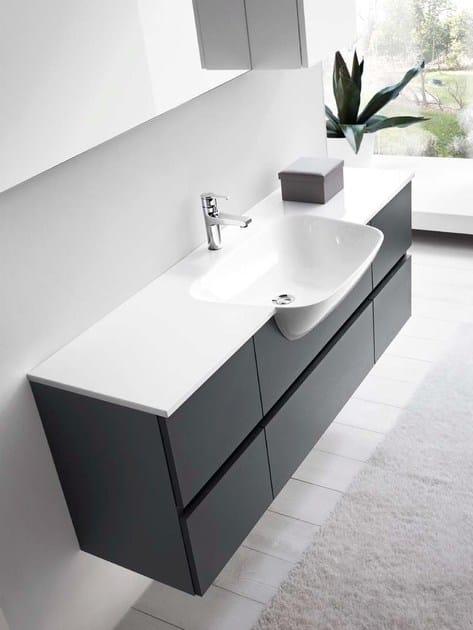 Mobile lavabo singolo 51 rab arredobagno - Lavello bagno con mobile ...