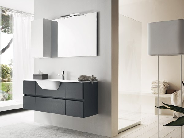 Single vanity unit 51 by RAB Arredobagno