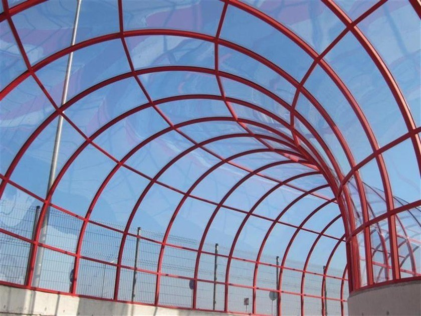 Polycarbonate solid sheets with U.V. protection on both side POLICOMP® by dott.gallina