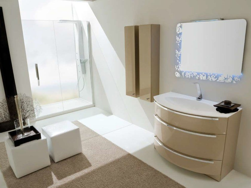Bathroom furniture set AB 224 by RAB Arredobagno