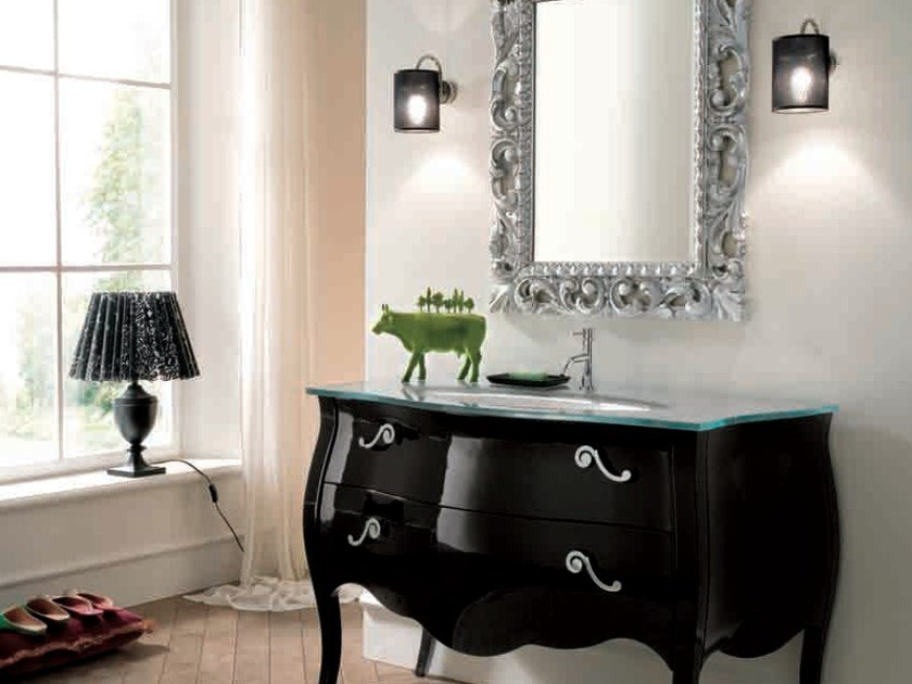 Single vanity unit with drawers 74 by RAB Arredobagno