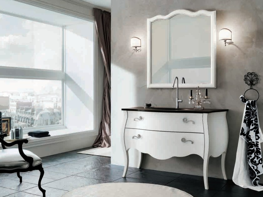 Single vanity unit with drawers 70 by RAB Arredobagno