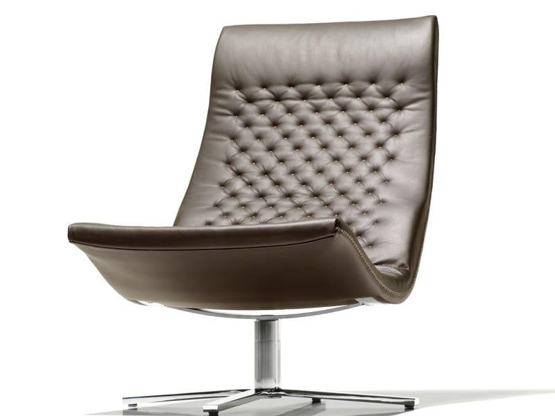 Swivel upholstered armchair DS-51 | Armchair - de Sede