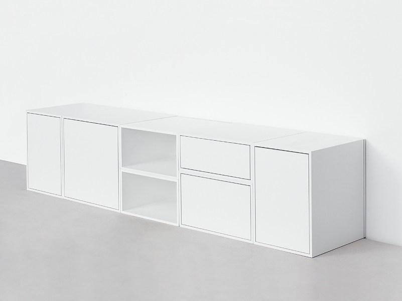 Contemporary style lacquered sideboard Sideboard - Cubit by Mymito