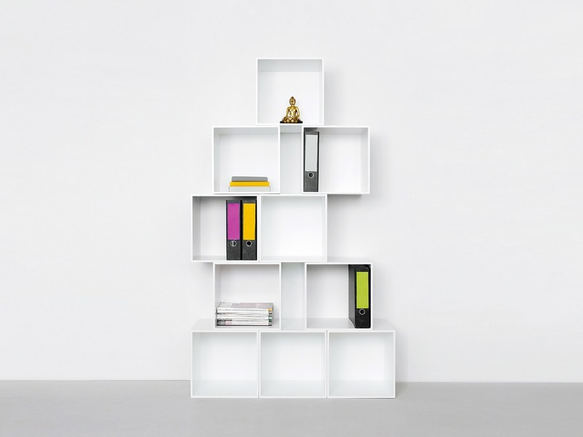 Modular office shelving Office shelving - Cubit by Mymito