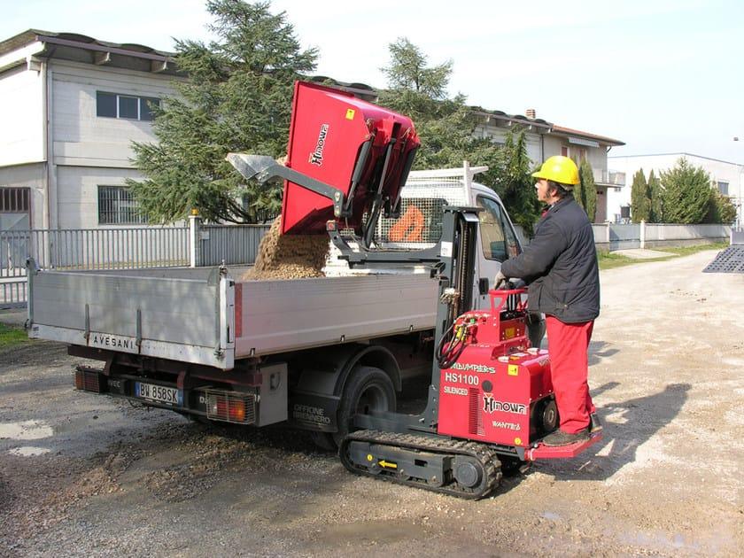Wheeled dumper and loader HS 1100 - HINOWA