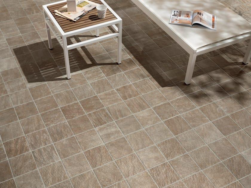Porcelain stoneware outdoor floor tiles ALPI PORDOI by CERAMICHE KEOPE