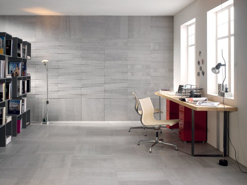 Indoor wall/floor tiles BACK SILVER by CERAMICHE KEOPE