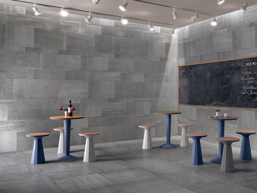 Indoor wall/floor tiles BACK GREY by CERAMICHE KEOPE