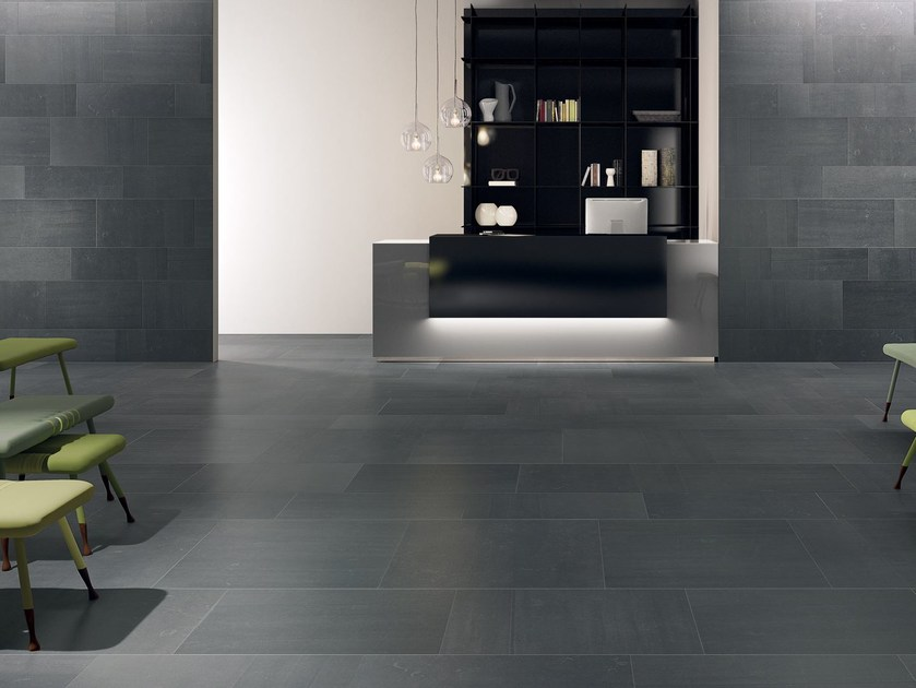 Indoor wall/floor tiles BACK ANTHRACITE by CERAMICHE KEOPE