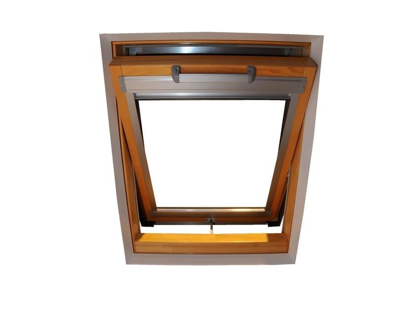 Tenda per finestre da tetto elettrica in tessuto tecnico for Tenda finestra tetto