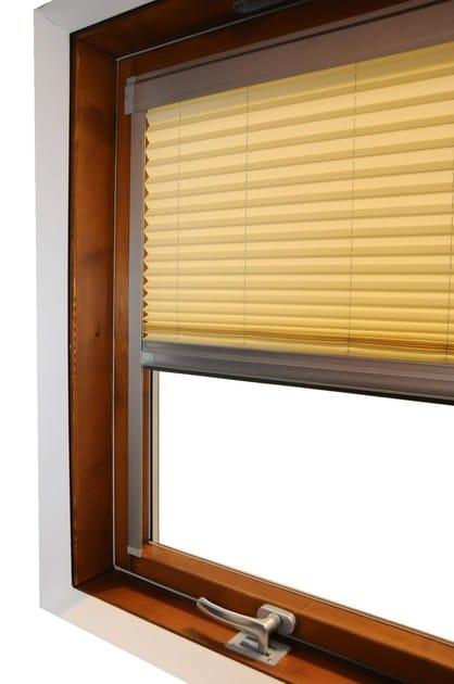 Tenda per finestre da tetto plissettata in tessuto tecnico - Tende per finestre alte ...