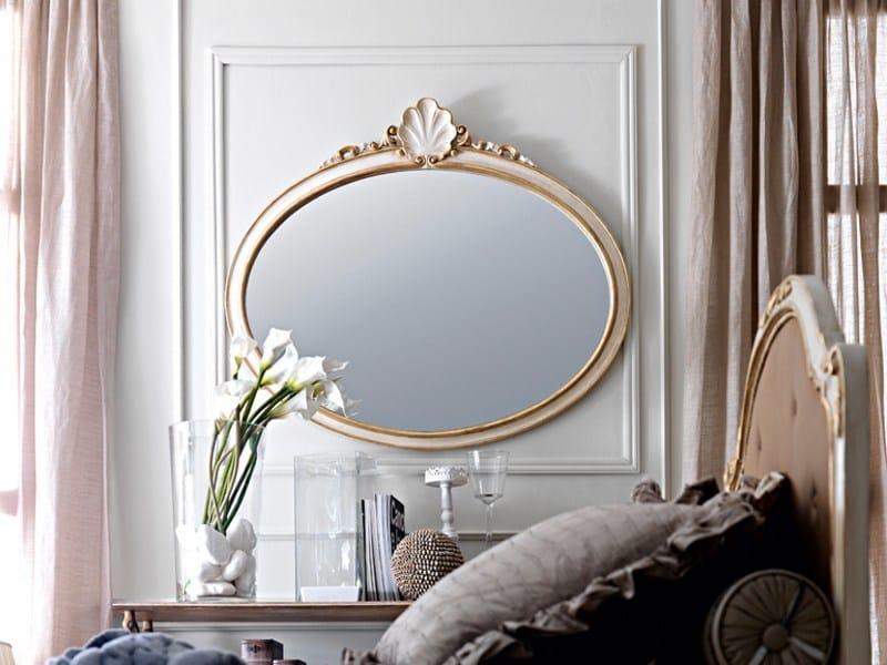 Specchio ovale con cornice 2389 specchio grifoni silvano - Specchio ovale vintage ...