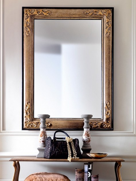Wall-mounted framed mirror 3633 | Mirror - Grifoni Silvano