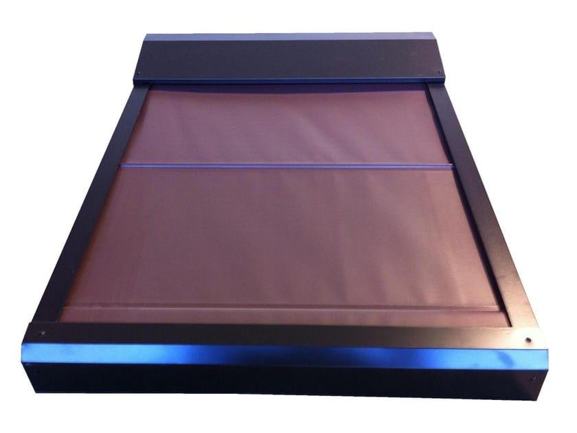 Electric aluminium skylight shade 220V External blackout blinds by LUXIN