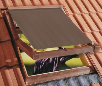Aluminium skylight shade 220V External sunshades - LUXIN