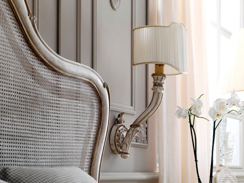 Classic style wall lamp with fixed arm 1668 | Wall lamp by Grifoni Silvano