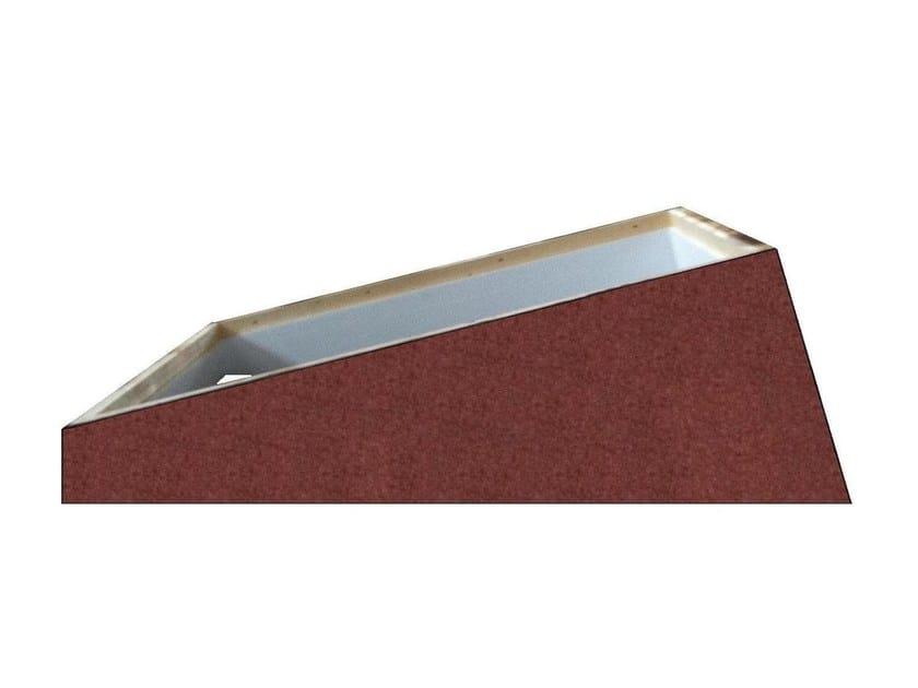 Basamento ed accessori per lucernario rialzo per tetti for Misure lucernari per tetti