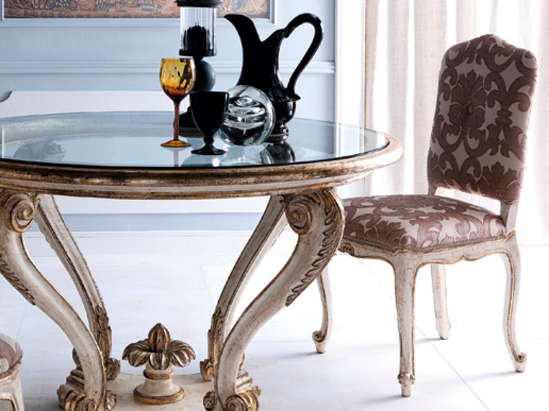 Classic style upholstered chair 3602 | Chair by Grifoni Silvano