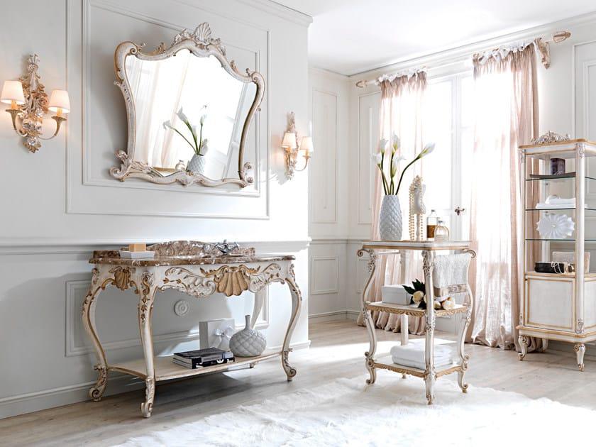 Consolle lavabo in stile classico 3009 consolle lavabo grifoni silvano - Consolle bagno classico ...