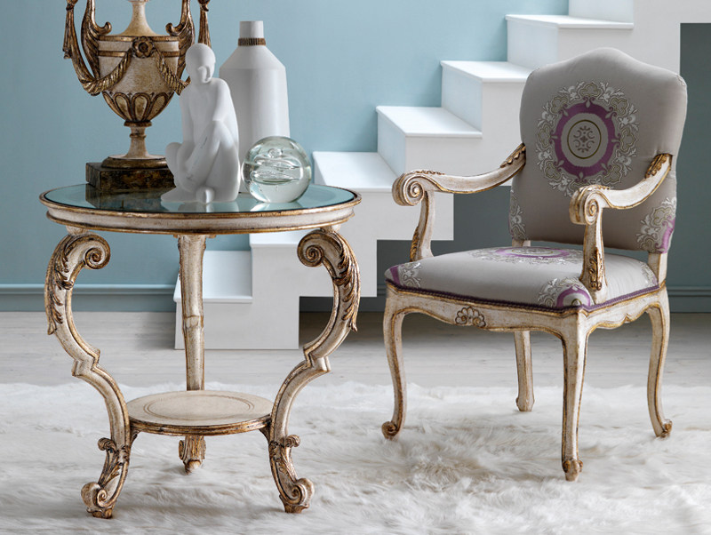 Classic style coffee table