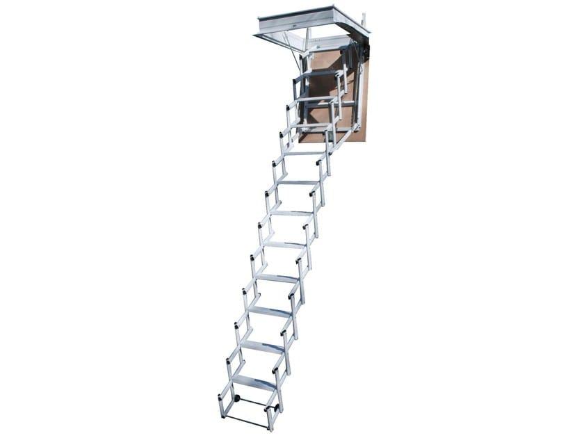 Steel Retractable stair STARLUX ELEGANT by LUXIN