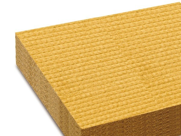 Natural insulating felt and panel for sustainable building PAVAFLEX by Pavatex