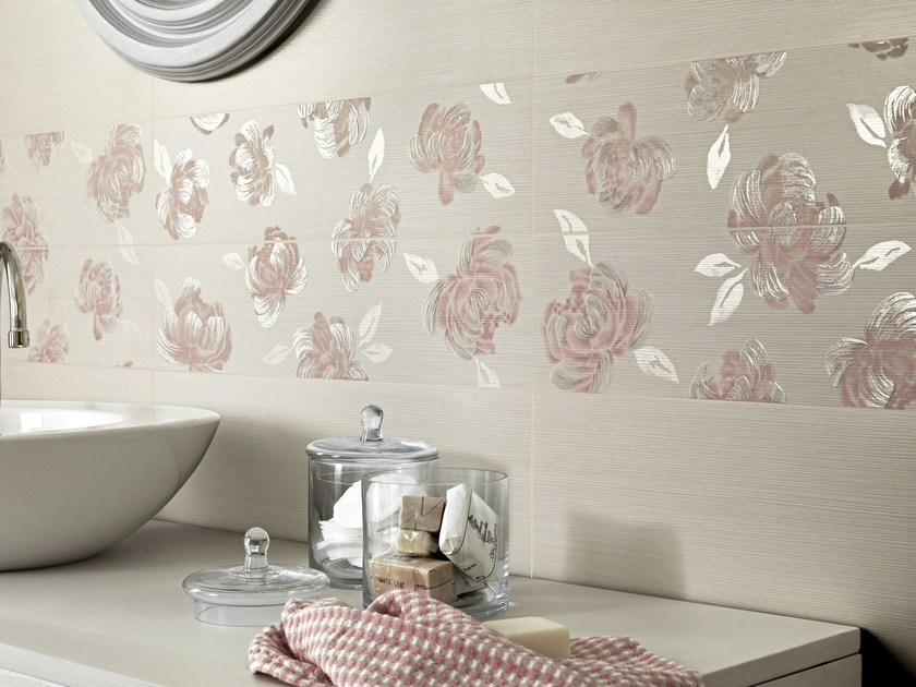 Indoor white-paste wall tiles ROMANTIQUE - Ragno
