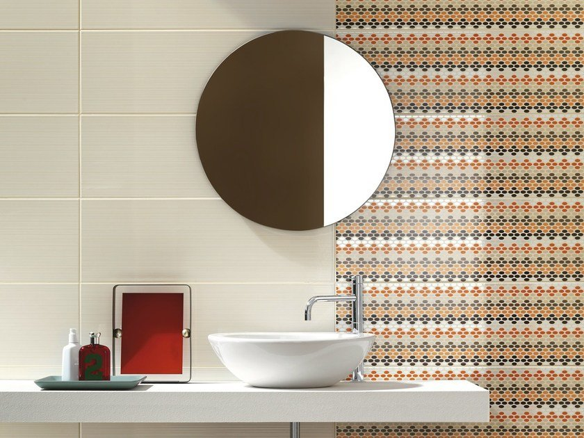 Indoor white-paste wall tiles SMART - Ragno