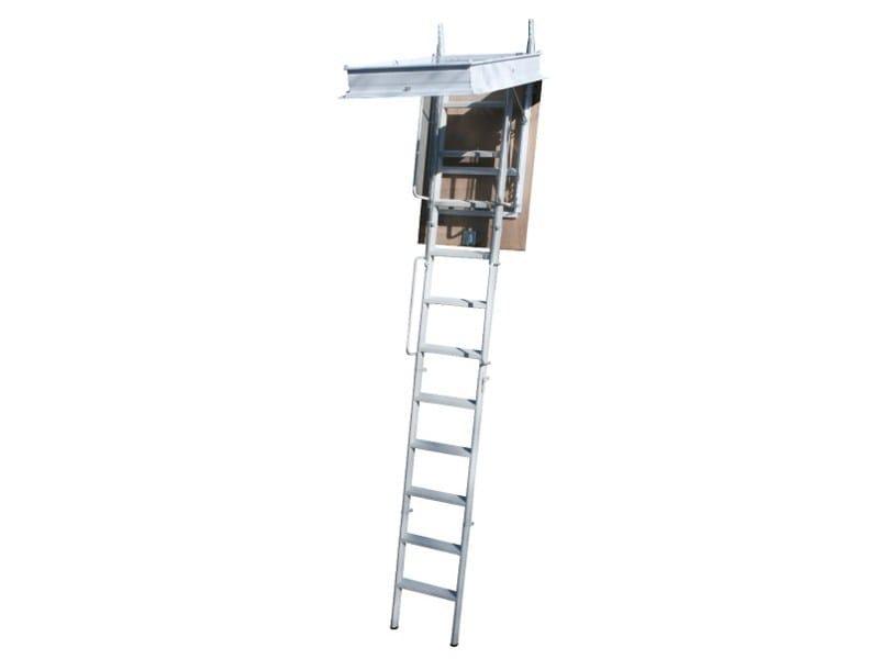 Steel Retractable stair STARLUX ELEGANT 4P - 3P - LUXIN