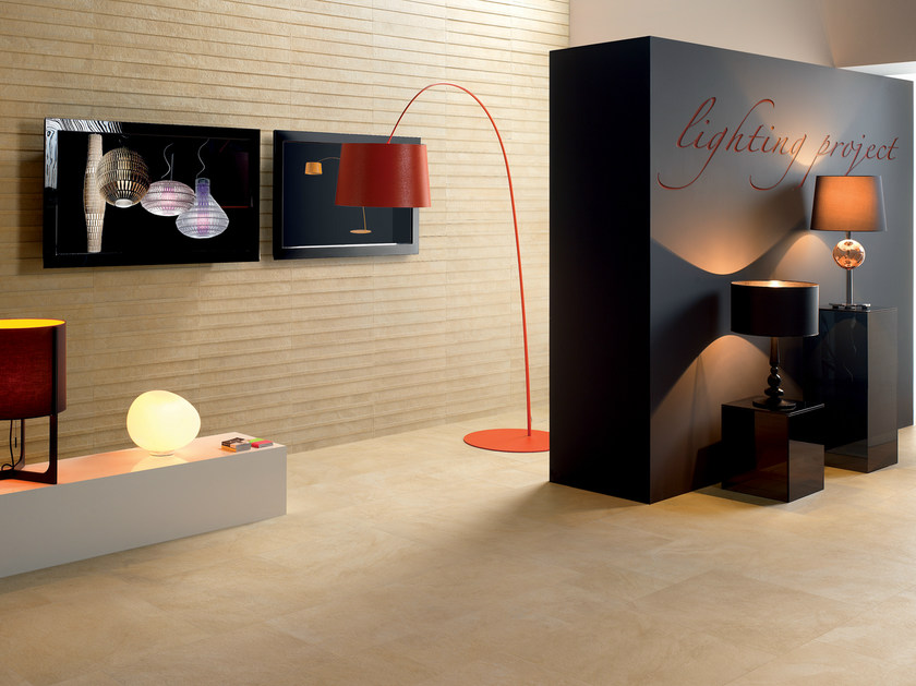 Porcelain stoneware wall/floor tiles SUNRISE GOLDEN by CERAMICHE KEOPE