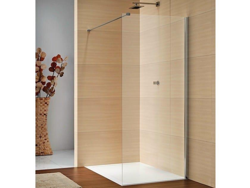 Rectangular crystal shower cabin LIBERO 4000 by DUKA