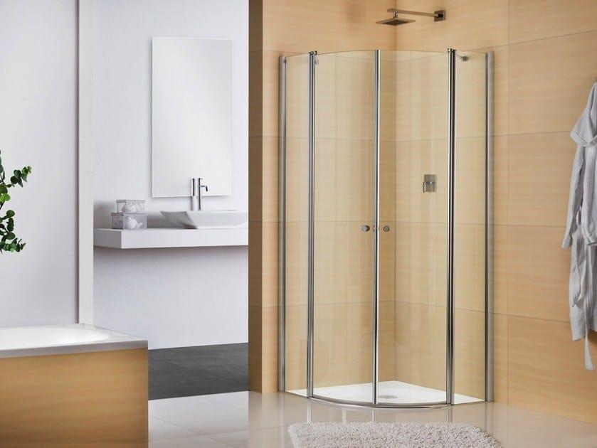 Crystal shower cabin